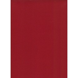 Flanelle Pure Laine Peignée - Rouge juliénas