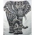 ELEPHANT NOIR-TAPISSERIE
