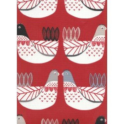 CLUCK RED PVC