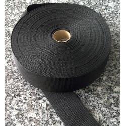 Sangle - Noir - 50 mm