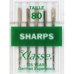 Aiguilles machine Sharps - 80