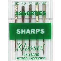 Aiguilles machine Sharps - Assorties