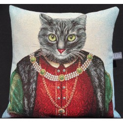 Coussin - Roi chat