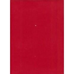 Velours - milleraies rouge