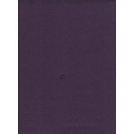 Flanelle Pure Laine Peignée - Purple