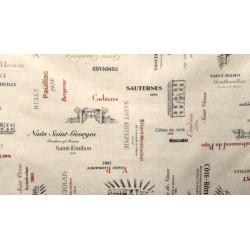 Carte des vins - Enduit